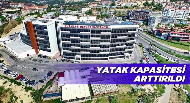 Kuşadası Devlet Hastanesi'ne Yeni Bir Yoğun Bakım Ünitesi