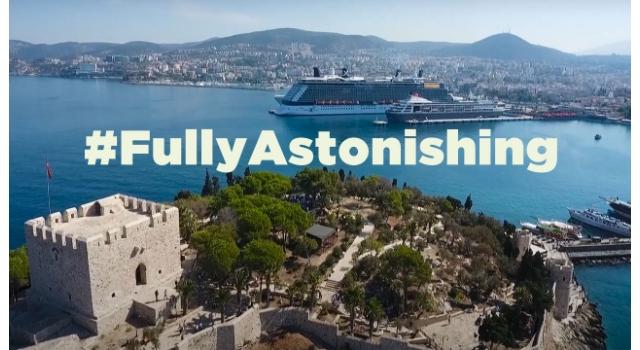 Med Cruise'un Yayınladığı Filmde Kuşadası'da Yer Aldı
