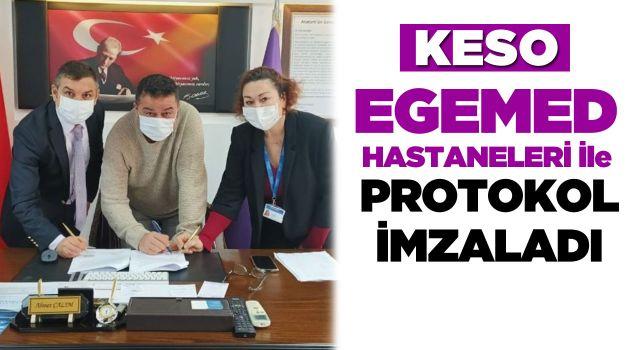 KESO ve EGEMED Hastaneleri Arasında Protokol İmzalandı