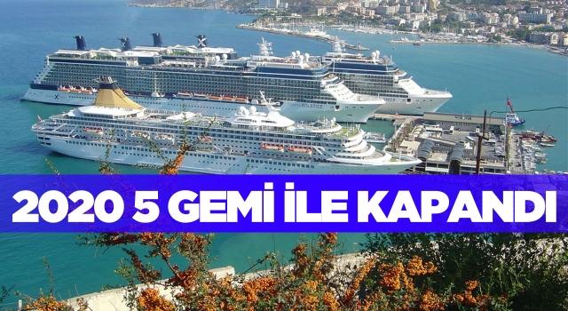 Kruvaziyer Turizmi 2020 Yılını 5 Gemiyle Kapattı!