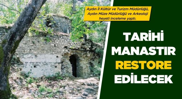 Tarihi Kurşunlu Manastırı Restore Edilecek
