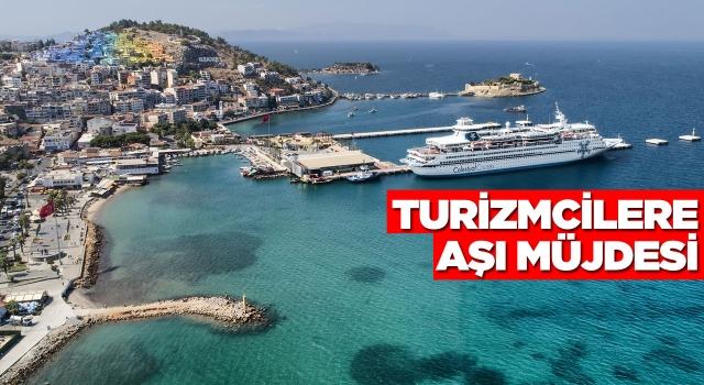 Aydın'da Turizm Çalışanlarına Aşı Müjdesi