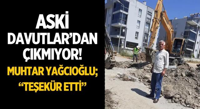 Büyükşehir ASKİ Davutlar'ı Mesken Tuttu!
