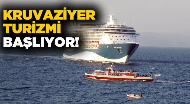 Gemiler Temmuzda Kuşadası Limanında!