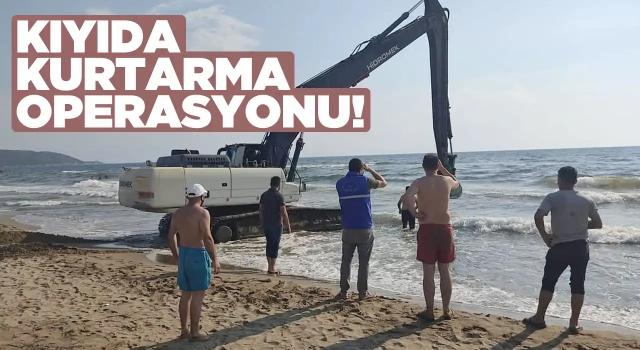 Karaya Vuran Yunus'u Sahil Güvenlik Kurtardı