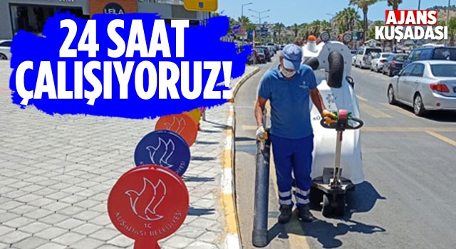 Aydın Büyükşehir Bayram Mesaisinde!
