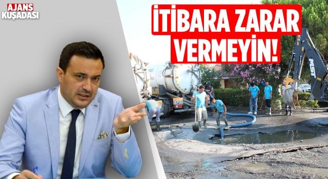 Aydın İl Kültür ve Turizm Müdürü'nden Kanalizasyon Olayına Tepki!