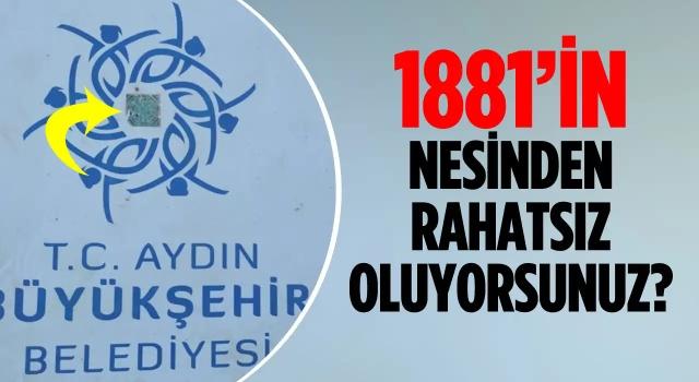 Kuşadası'nda Atatürk'ün Doğum Tarihini Kağıtla Kapattılar!