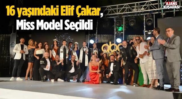 16 yaşındaki Elif Çakar, Miss Model Seçildi
