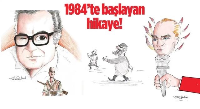 18 Ödüllü Karikatürist Lütfü Çakın