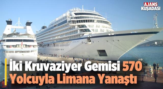 Viking Sky ve Star Legend Kuşadası Limanında!