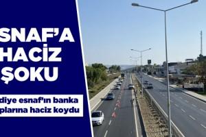 Korona Mağduru Esnafa Belediyeden Haciz Kıskacı