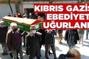 Kıbrıs Gazisi Öztürk, Ebediyete Uğurlandı