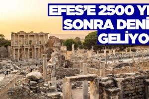 Komşu Efes'e 2 bin 500 yıl Sonra Tekneyle Ulaşılabilecek!