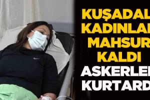 Kuşadalı İki Kadın Dağcı, Hasandağı'nda Mahsur Kaldı!