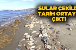 Kuşadası'nda Sular Çekildi Tarihi Yapılar Ortaya Çıktı!