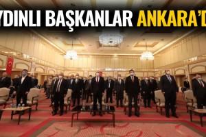 Aydınlı Başkanlar Ankara'da Toplantıya Katıldı!
