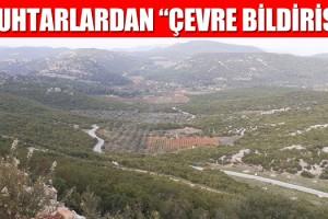 Kuşadası Köy Muhtarlarından Gece Yarısı Bildirisi!