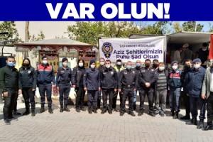 Kuşadası Polisi Şehitler Anısına Lokma Döktürdü