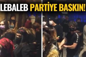 Kuşadası'nda Lebaleb Parti Denetime Takıldı!