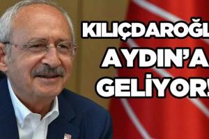 CHP Genel Başkanı Aydın'a Geliyor!