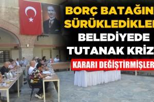 Kuşadası Belediye Meclisi'nde Tutanak Krizi!