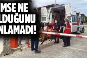 Kuşadası Devlet Hastanesi'nde Tatbikat Yapıldı
