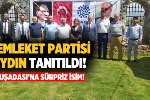 Memleket Partisi Aydın Tanıtıldı, Kuşadası İlçe Başkanı Belli Oldu!