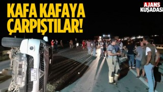 Kuşadası - Selçuk Yolunda Feci Trafik Kazası!