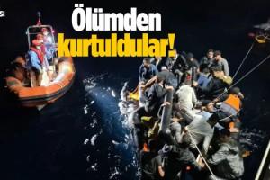 84 Mülteci Kuşadası'nda Kurtarıldı