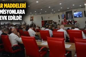 Aydın BŞB'de Meclis Toplantısı