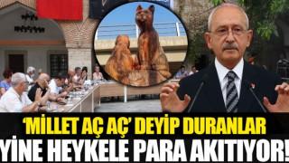 CHP'li Kuşadası Belediyesinden HEYKEL Yatırımcılığı!
