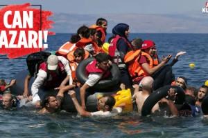 Kuşadası'nda Mülteci Operasyonu!