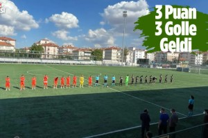 Kuşadasıspor Ankara'da 3 Puanı Kaptı