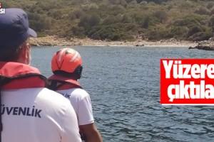 Yunan İtiyor, Türk Sahil Güvenlik Kurtarıyor
