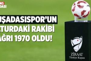 ZTK'da Kuşadasıspor'un Rakibi Ağrı 1970 Oldu!
