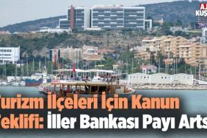 CHP'li Vekil Turizm İlçeleri İçin Kanun Teklifi Sundu