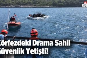 Göçmenlerin İmdadına Sahil Güvenlik Yetişti!