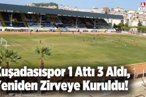 Kuşadasıspor Evinde Galip Geldi: 1-0